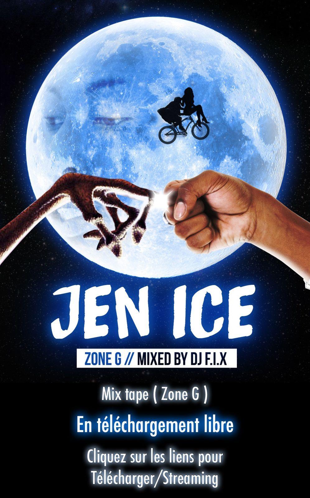 Jen Ice, un vrai ET dans le rap français !