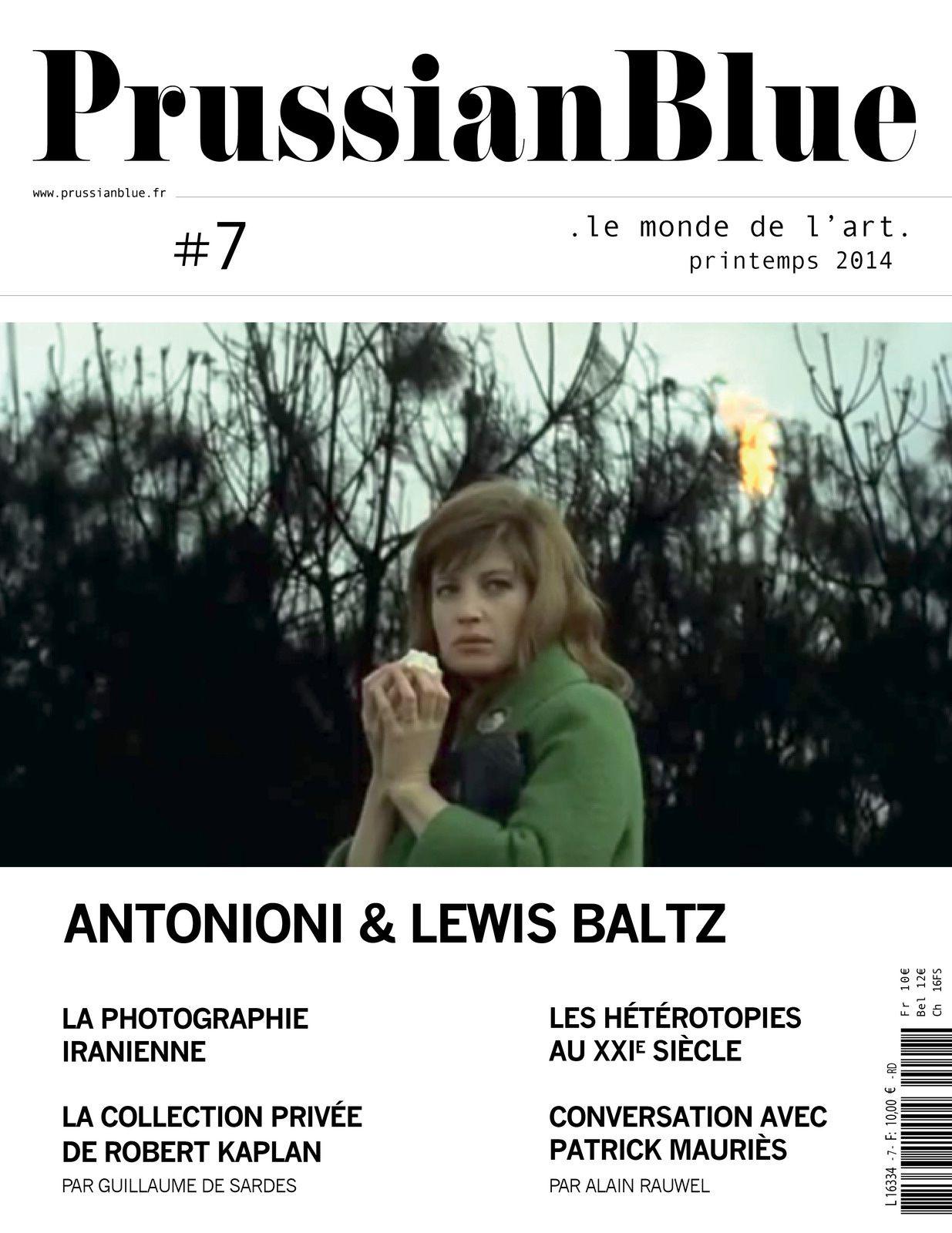 Prussian Blue, sans doute l'une des meilleures revues d'art