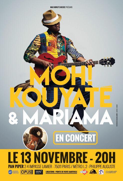 moh! kouyaté, mariama, afrique, world, darré, album