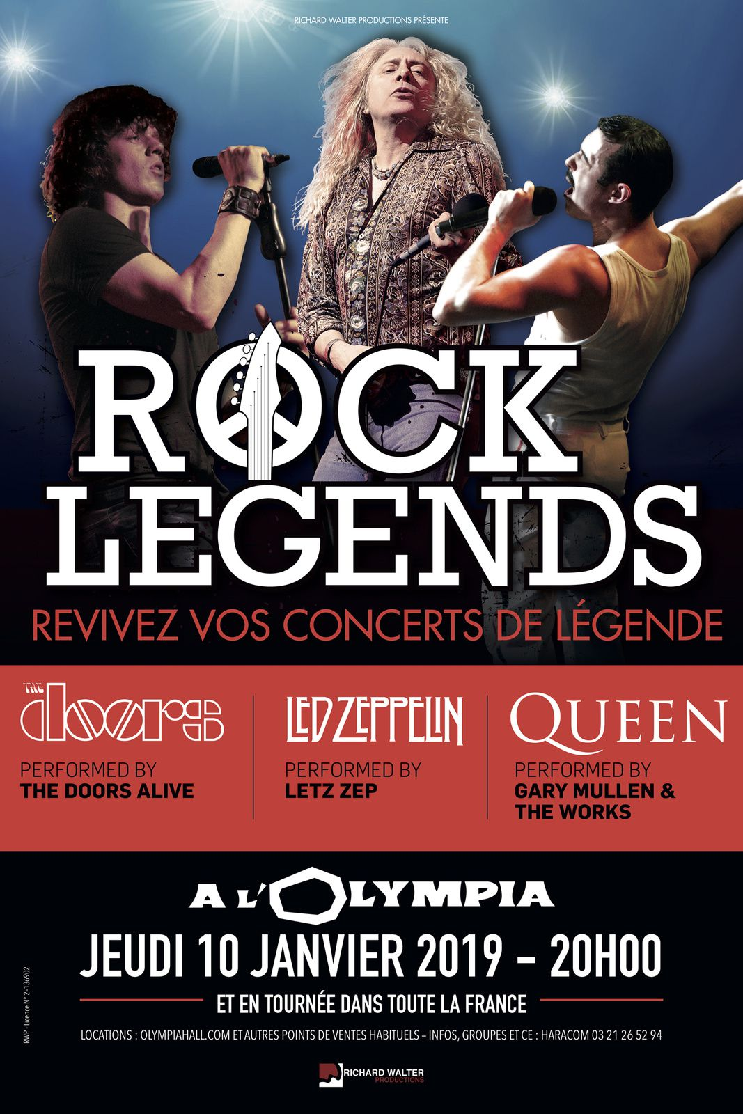 Rock Legends, Olympia