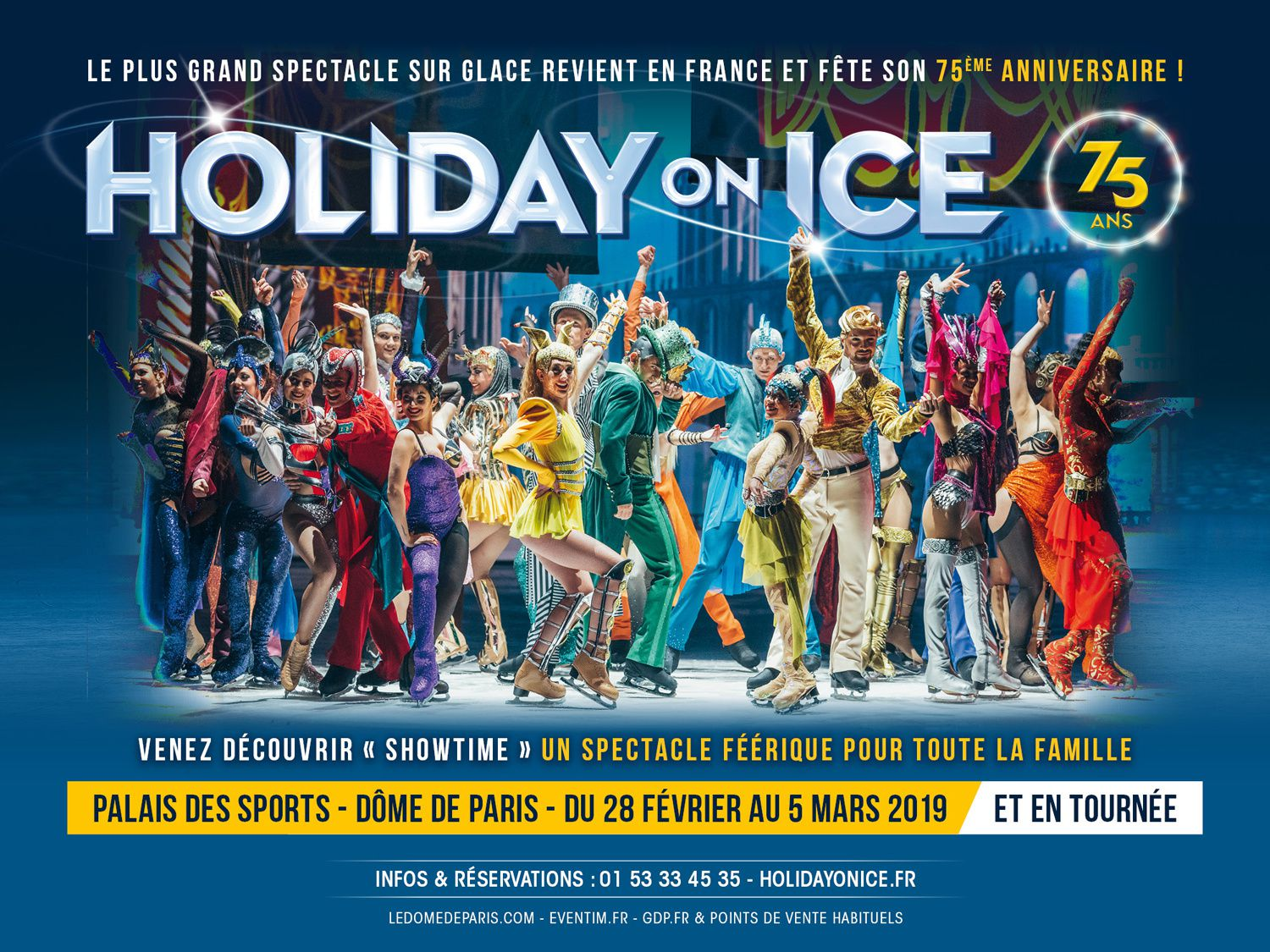 Holiday On Ice - 75 ans