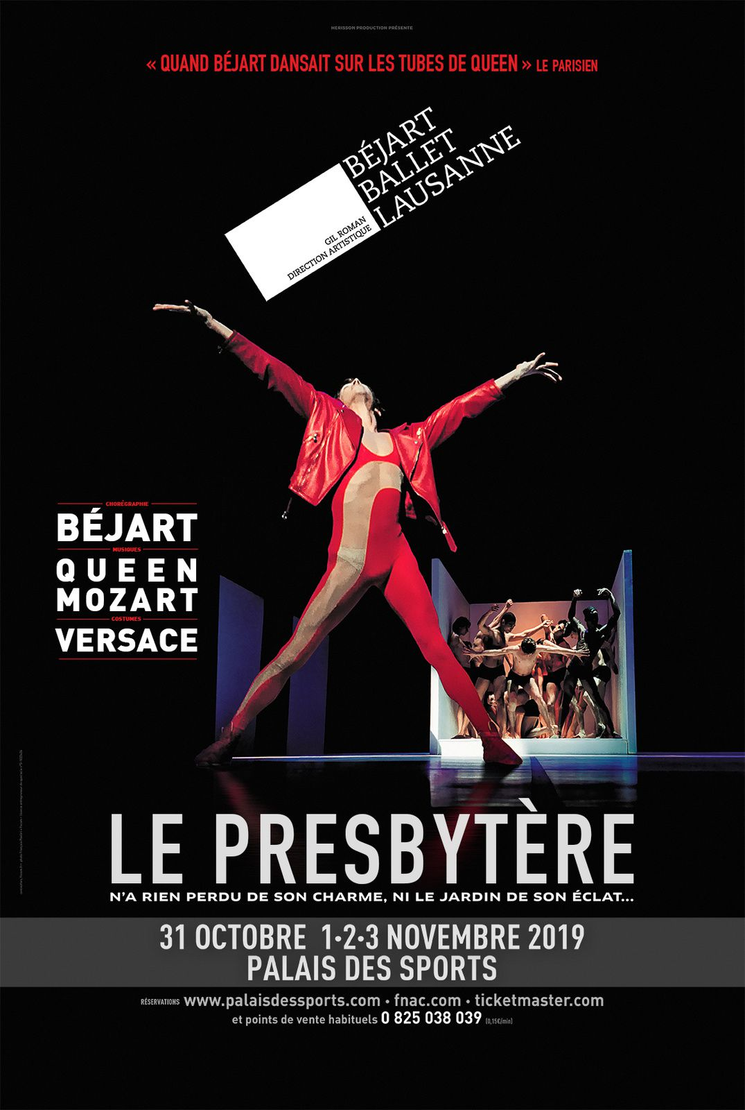 Béjart Ballet Lausanne - Palais des sports - Le presbytère