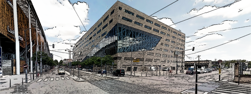 Hôtel de Région à Lyon