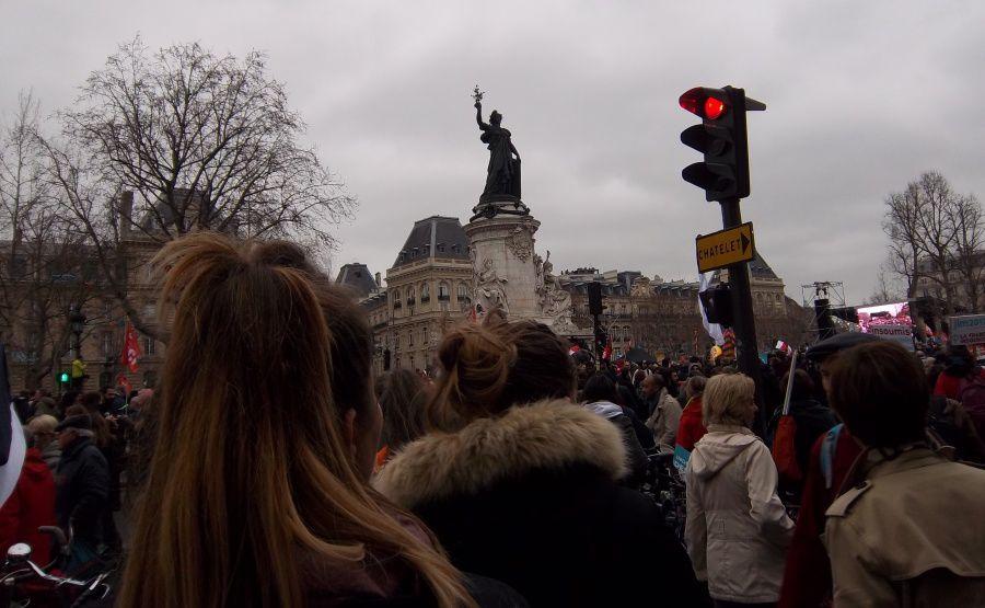 Pari réussi pour la France insoumise