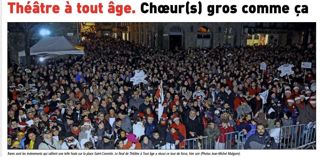 Le Télégramme 24/12/2012