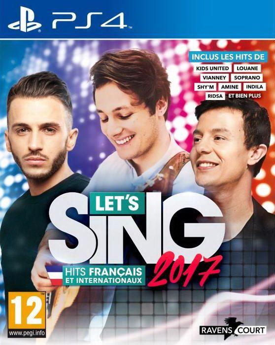 TEST de LET'S SING 2017 HITS FRANCAIS ET INTERNATIONAUX (sur PS4) : sur un très bon rythme!