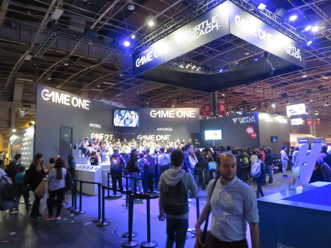 paris games week 2016 les coulisses du stand game one avec marcus le blog gaming de starsystemf. Black Bedroom Furniture Sets. Home Design Ideas