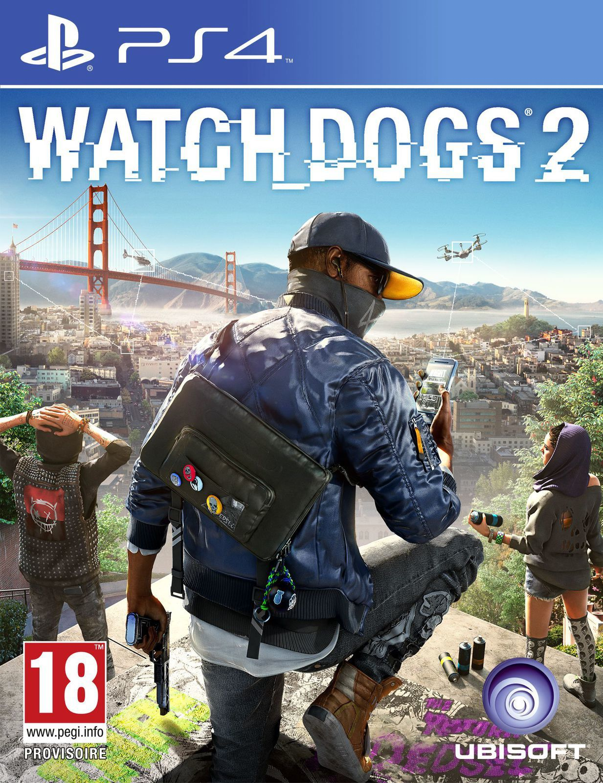 TEST de WATCH DOGS 2 (sur PS4): la cool attitude des hackers!