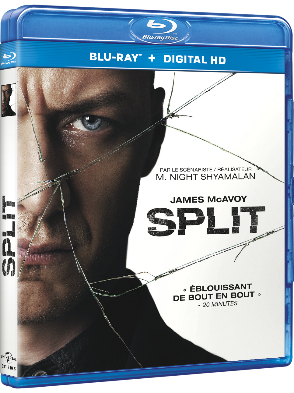[REVUE CINEMA BLU-RAY] SPLIT de M. NIGHT SHYAMALAN