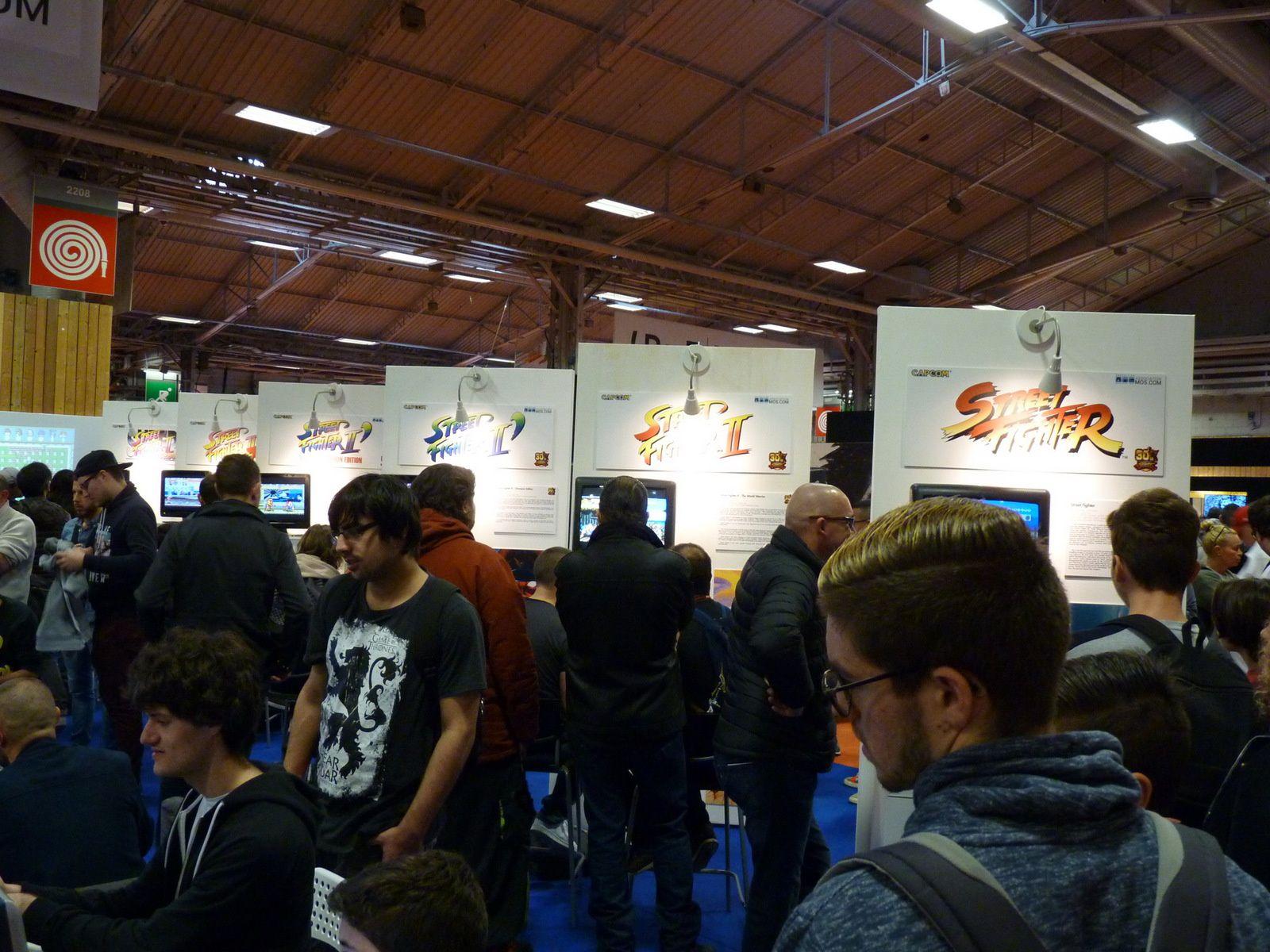 Instantanés du Samedi 4 Novembre 2017 à la Paris Games Week 2017
