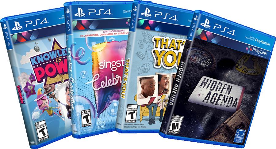 CONCOURS: les quatre jeux PlayLink sur PS4 à gagner !