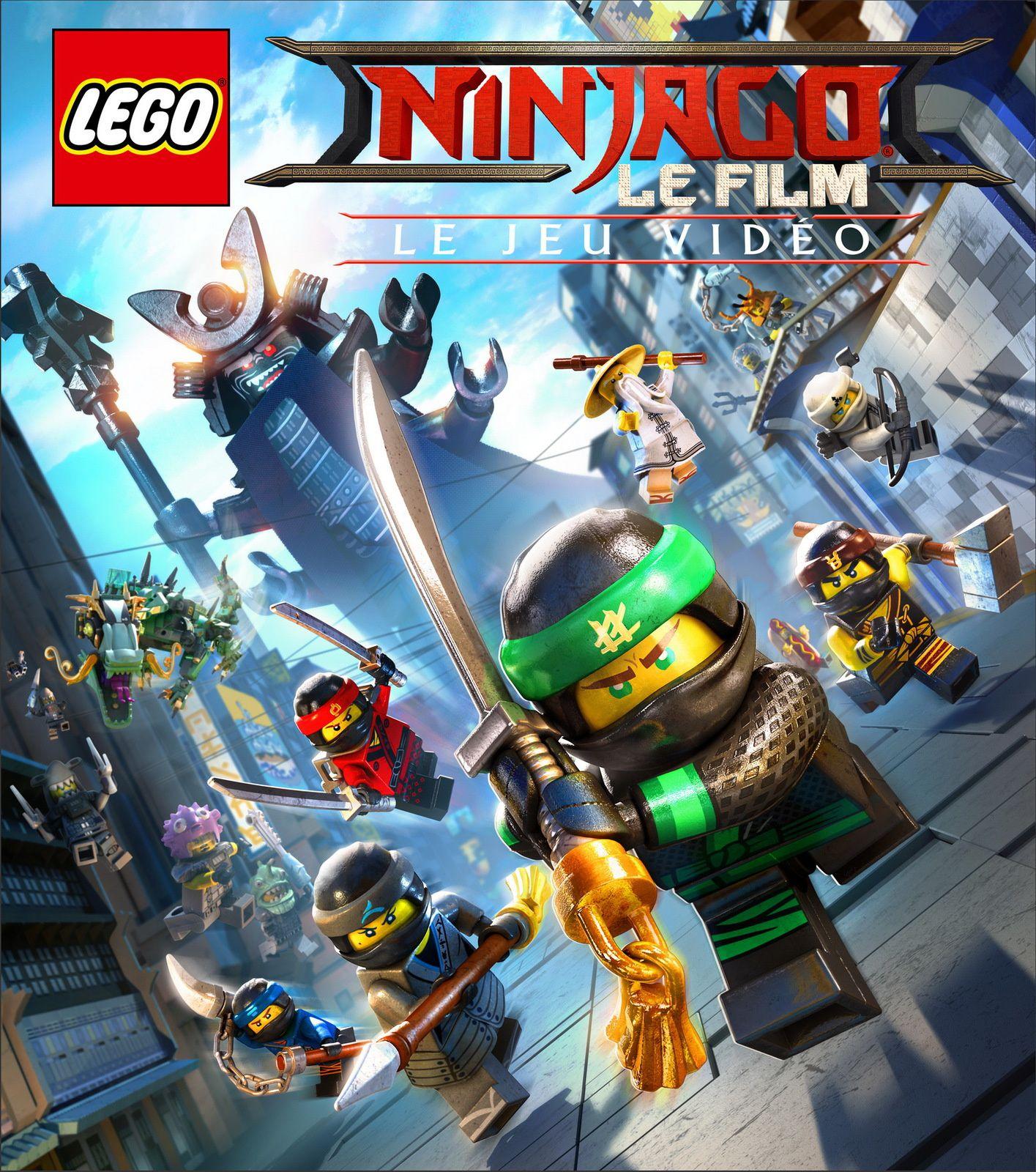 TEST de LEGO NINJAGO LE FILM - Le jeu vidéo (sur PS4): konnichiwa jeune ninja