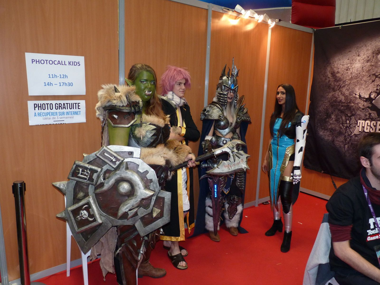[TOULOUSE GAME SHOW 2017] Le paradis du cosplay