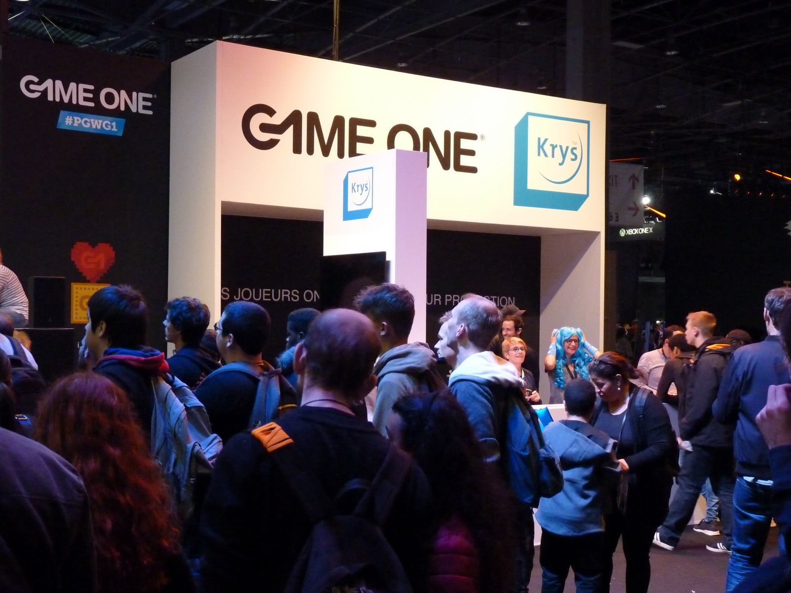 [PARIS GAMES WEEK 2017] Le stand GAME ONE
