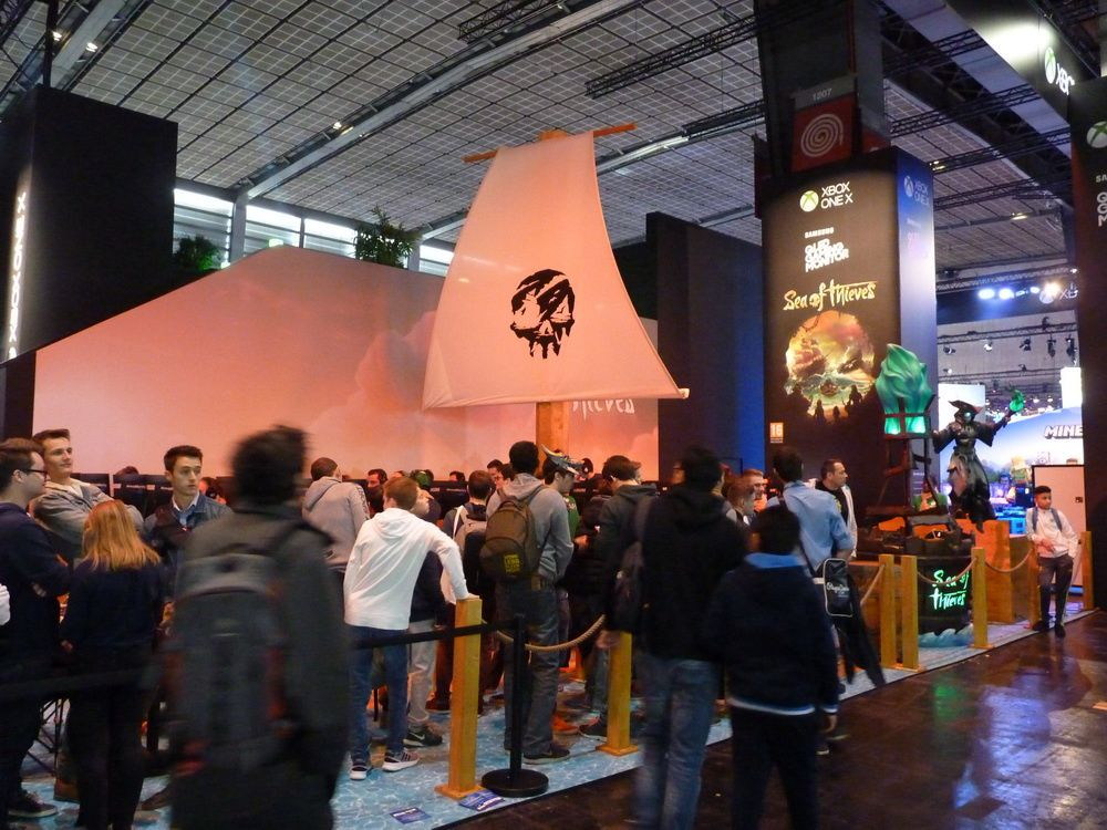 [PARIS GAMES WEEK 2017] Le stand XBOX ONE X