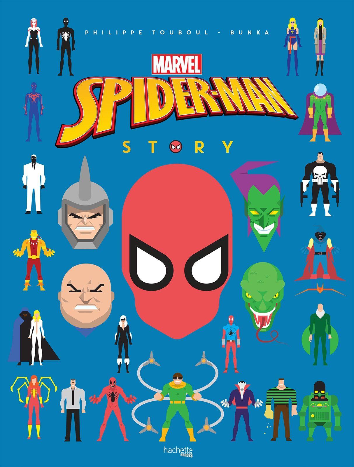 [REVUE LIVRE GEEK] PICSOU STORY / SPIDER-MAN STORY aux éditions HACHETTE HEROES