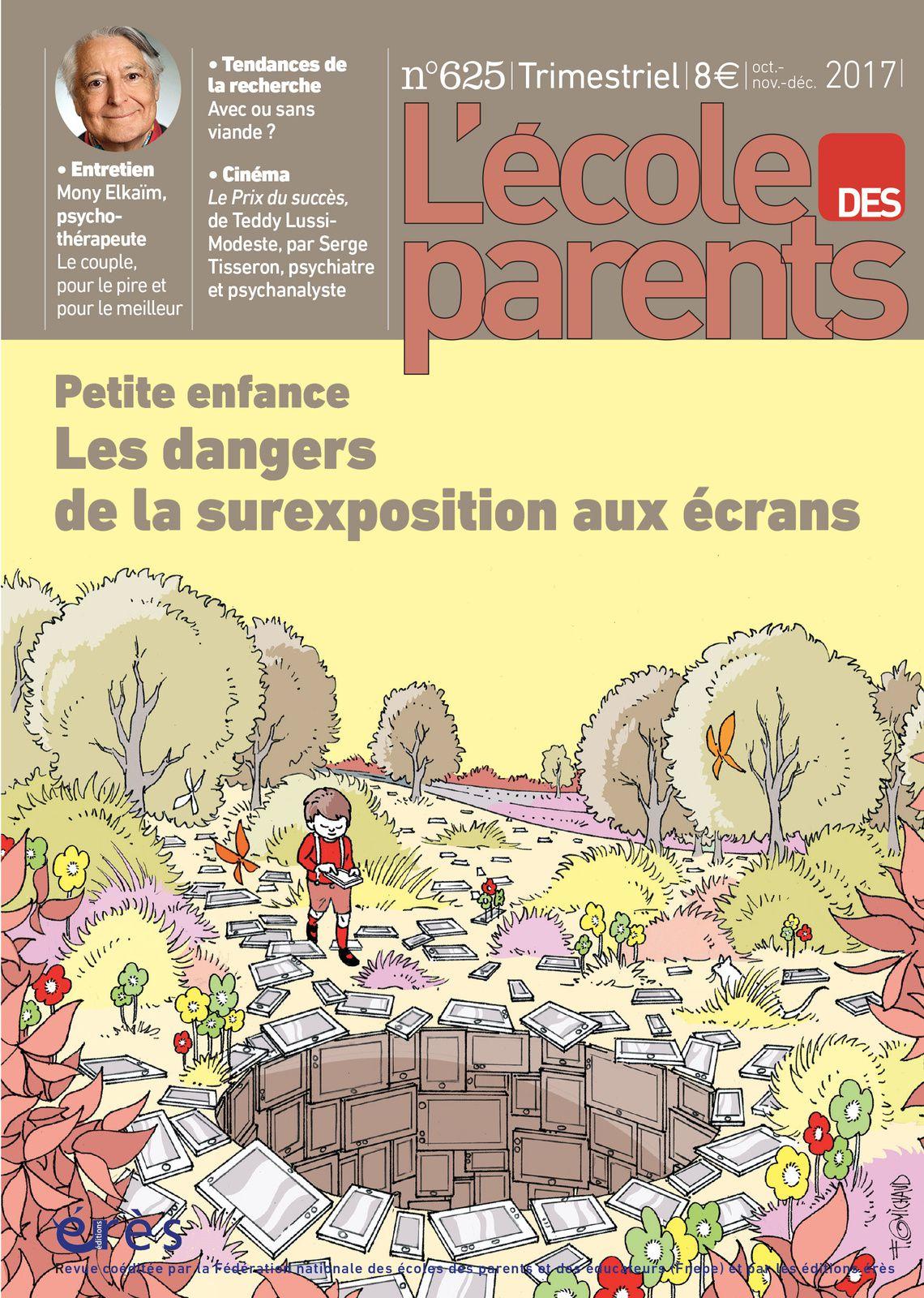 [REVUE LIVRE PAPA GAMEUR] L'ECOLE DES PARENTS - Les dangers de la surexposition aux écrans aux éditions ERES
