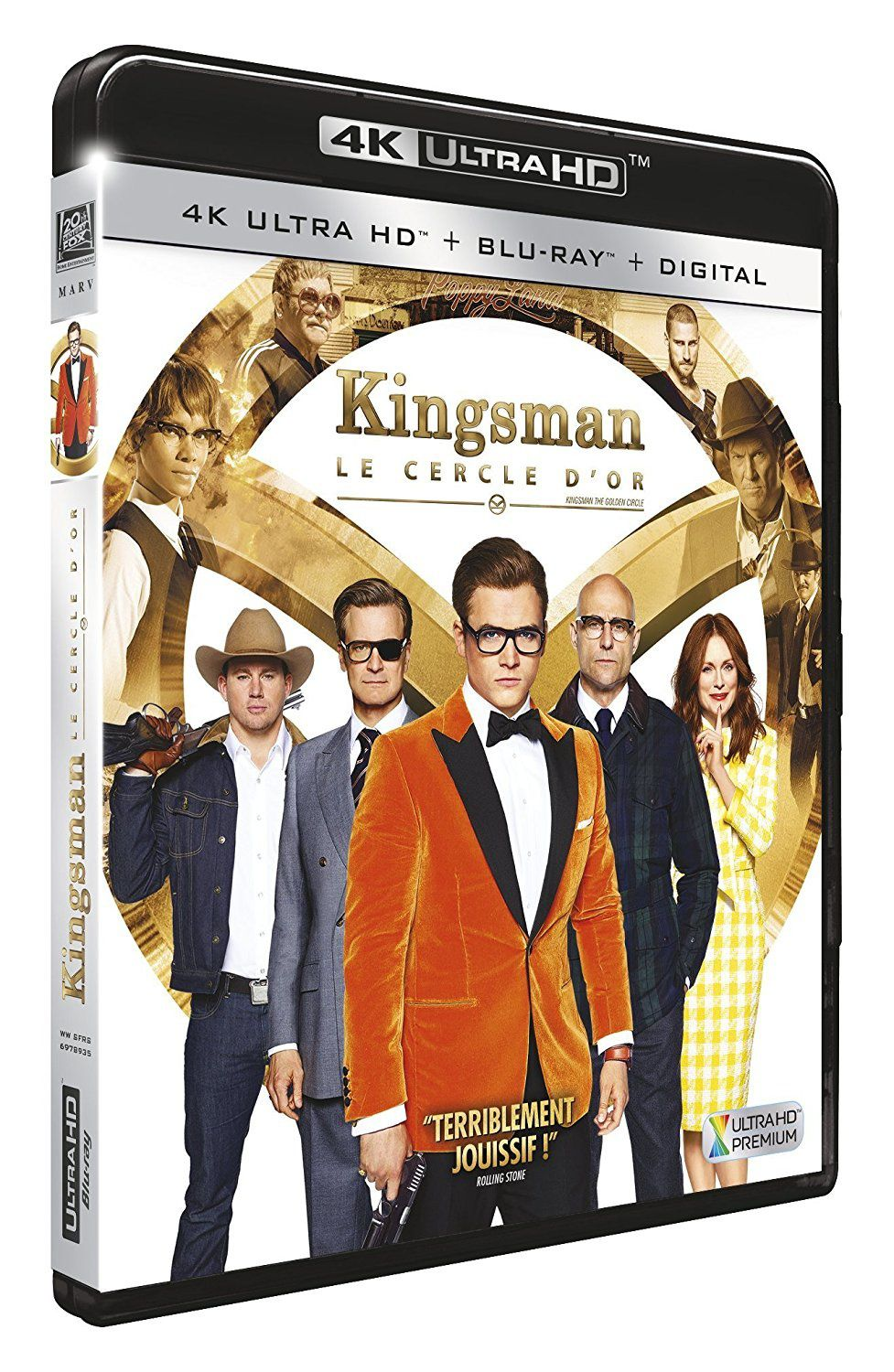 [REVUE CINEMA BLU-RAY 4K] KINGSMAN LE CERCLE D'OR