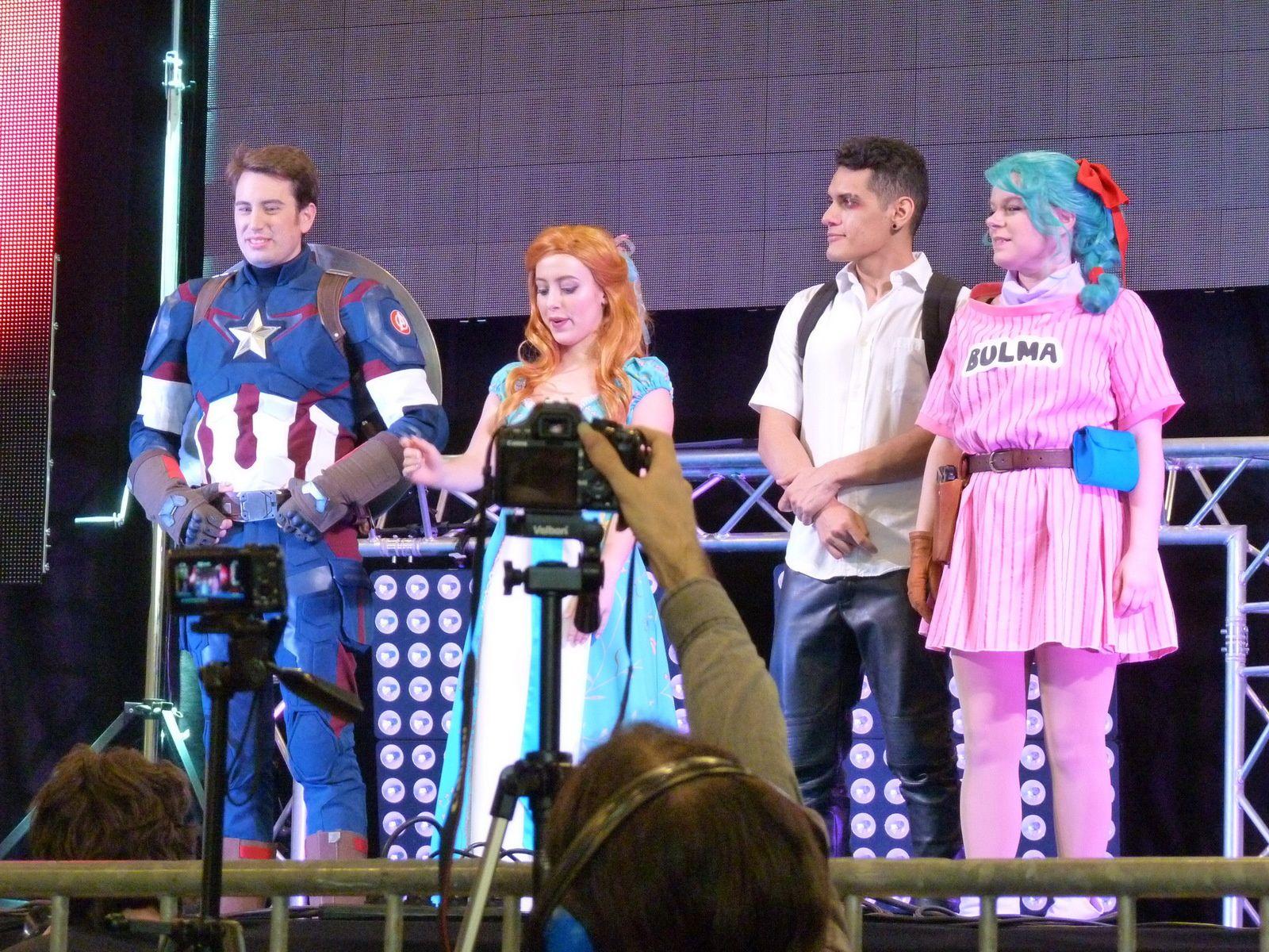 Le concours cosplay en groupe au TGS SP 2018 le 08/04/2018