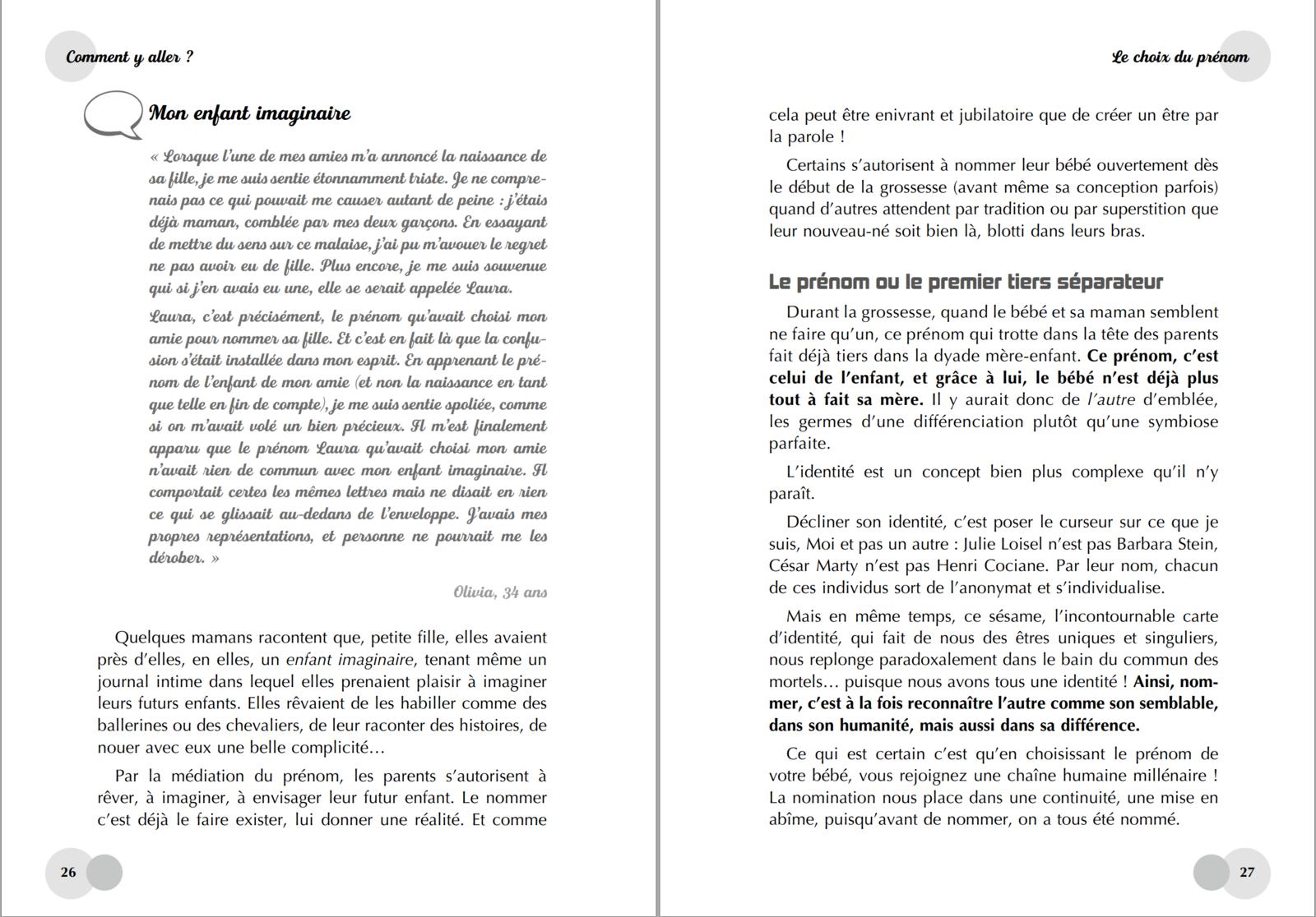 """Extrait du livre """"BÉBÉ DIS-MOI TOUT!"""" publié aux éditions LEDUC"""