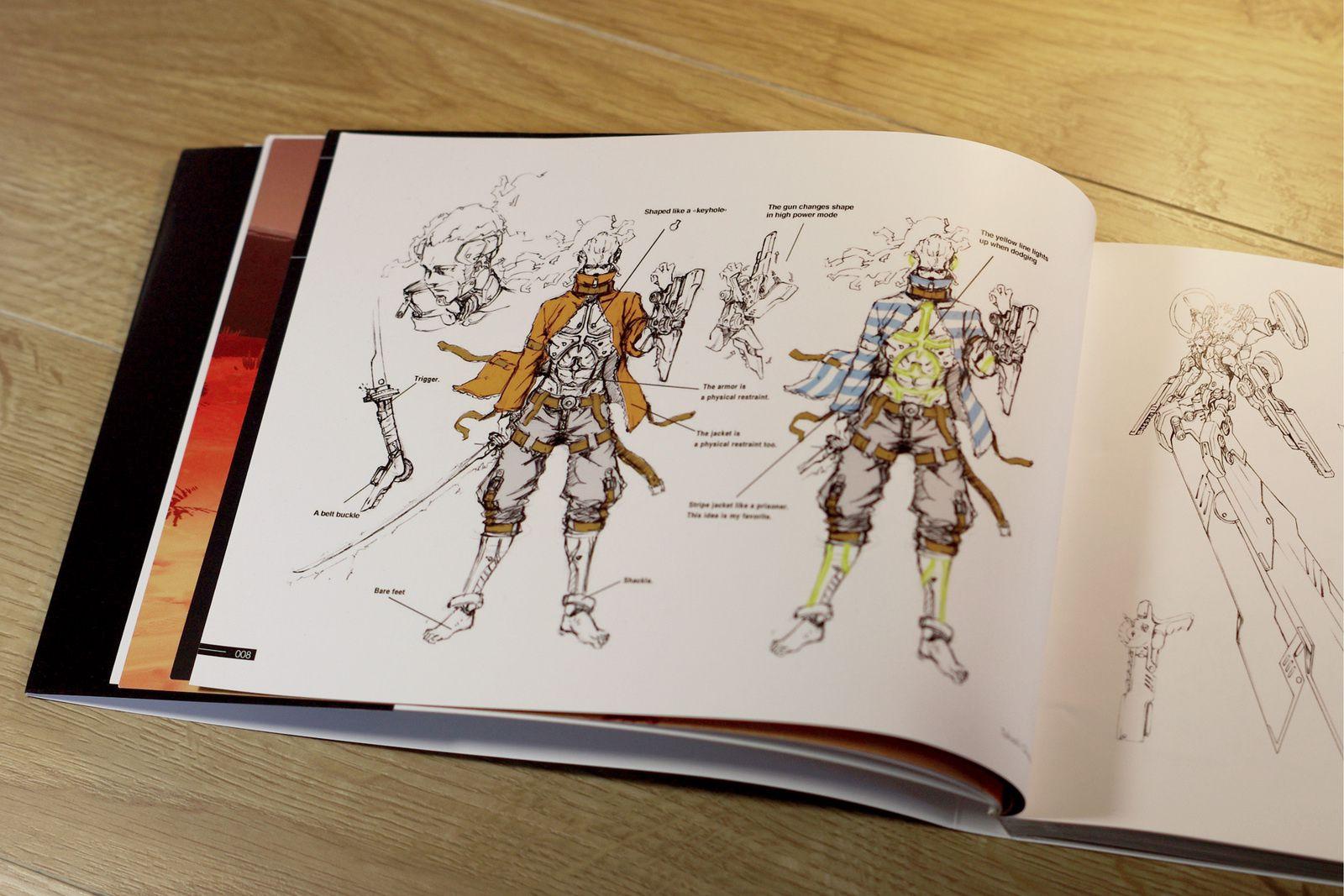 Extraits de l'artbook FURI COMPLETE ARTWORKS distribué par THE GAME BAKERS