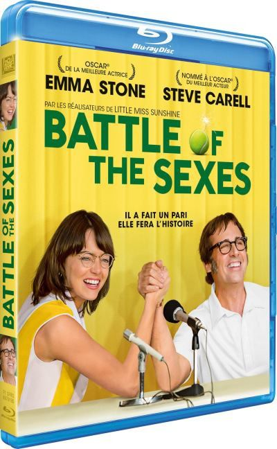 [REVUE CINEMA BLU-RAY] BATTLE OF THE SEXES