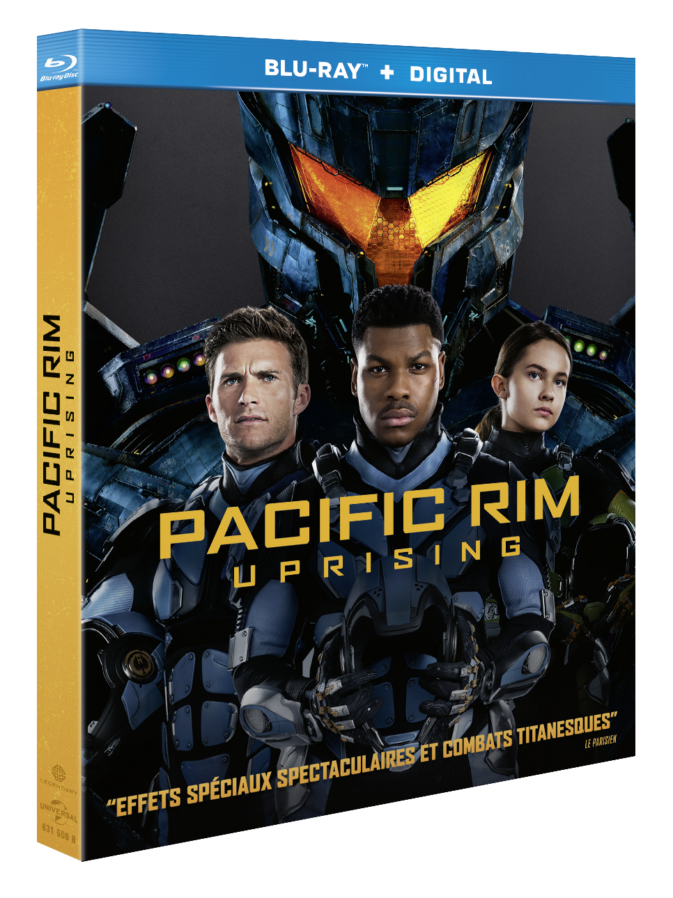[REVUE CINEMA BLU-RAY] PACIFIC RIM UPRISING