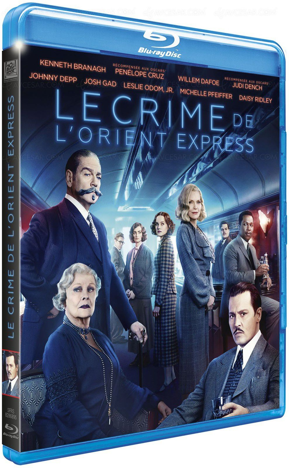 [REVUE CINEMA BLU-RAY] LE CRIME DE L'ORIENT EXPRESS (2017)