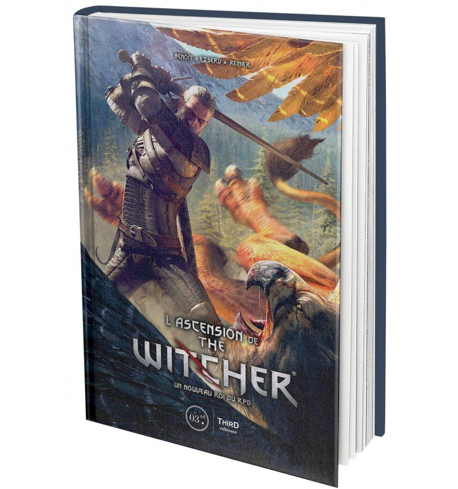 "[REVUE LIVRE GAMING] L'ASCENSION DE THE WITCHER de Benoît ""Exserv"" Reinier chez THIRD EDITIONS"