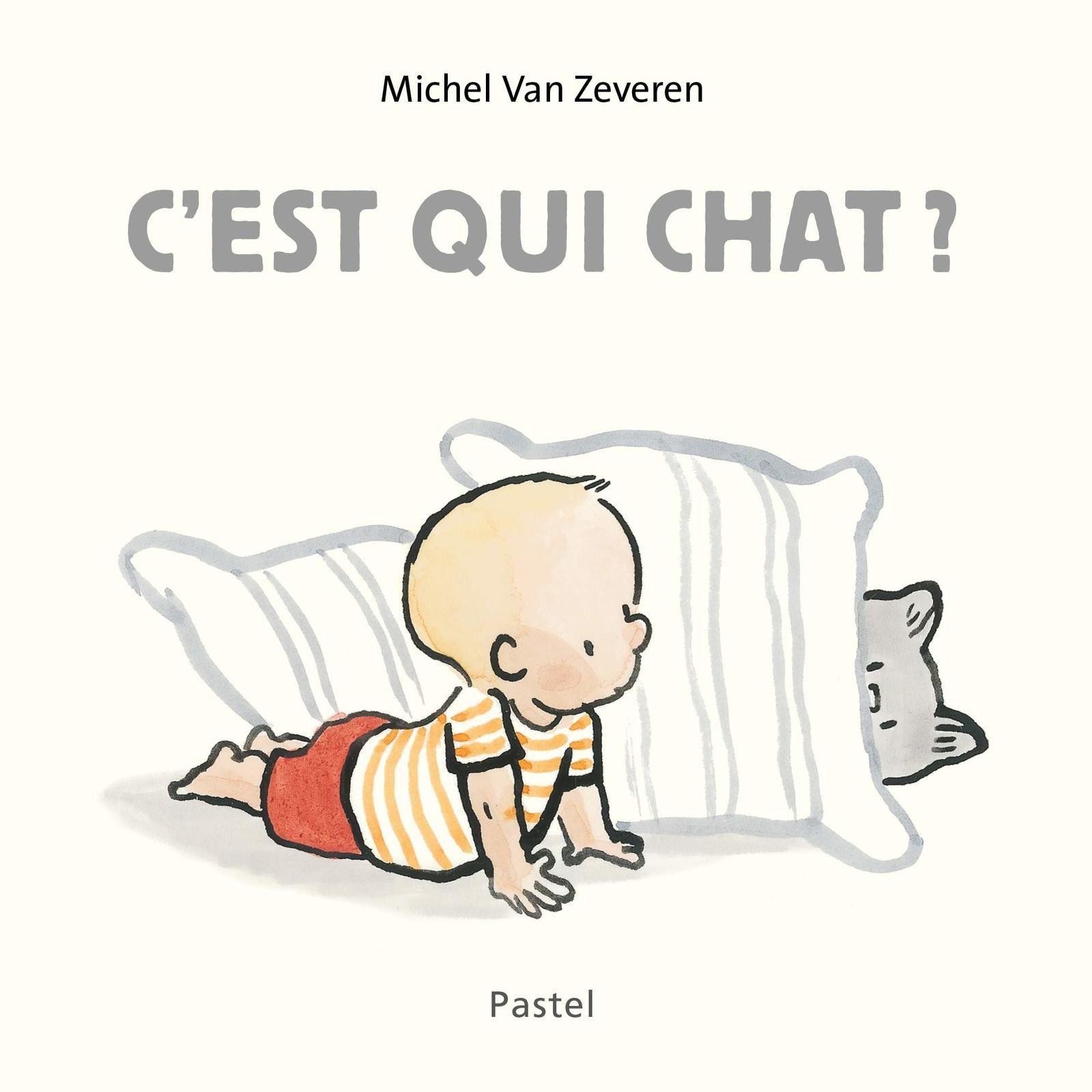 [REVUE LIVRE PAPA GAMEUR] C'EST QUI CHAT ? de Michel VAN ZEVEREN aux éditions L'ECOLE DES LOISIRS