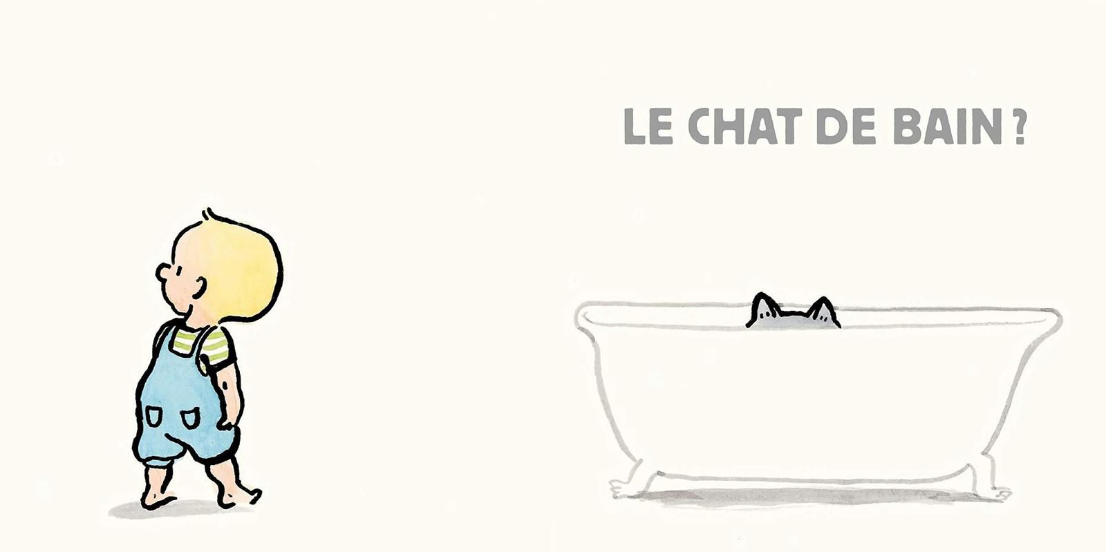 """Extraits de """"IL EST OU CHAT?"""" aux éditions L'ECOLE DES LOISIRS"""