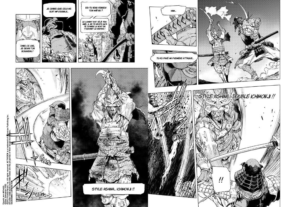"""Extraits de """"SEKIRO Hanbei l'immortel"""" sorti aux éditions MANA BOOKS"""