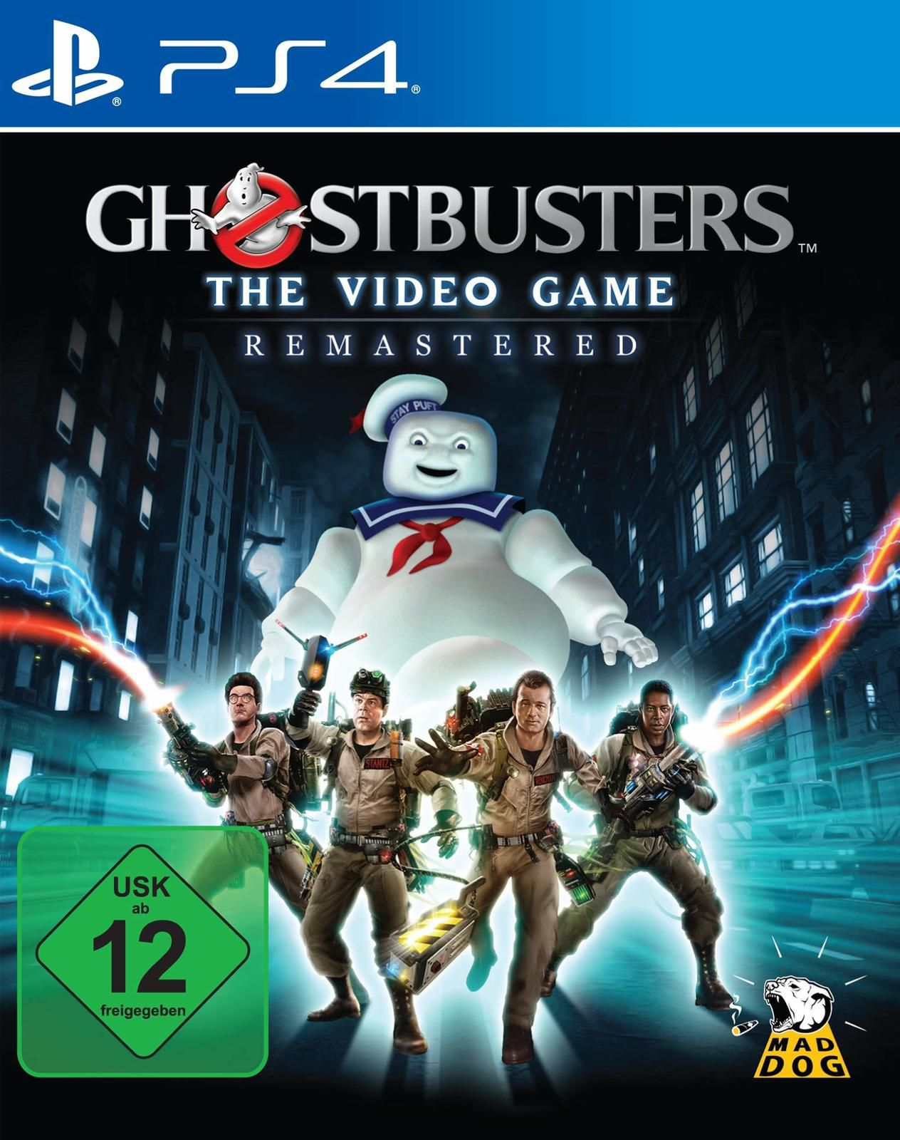 [TEST] GHOSTBUSTERS THE VIDEO GAME REMASTERED PS4 : les chasseurs de fantômes reviennent en HD