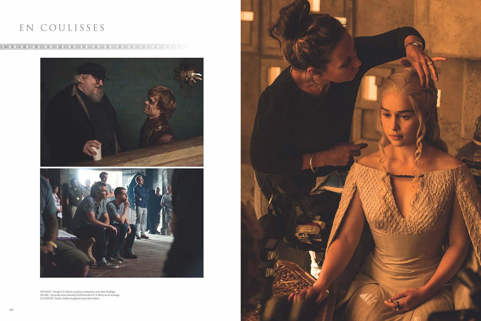 "Extraits de ""LA PHOTOGRAPHIE DE GAME OF THRONES"" sorti chez 404 EDITIONS"