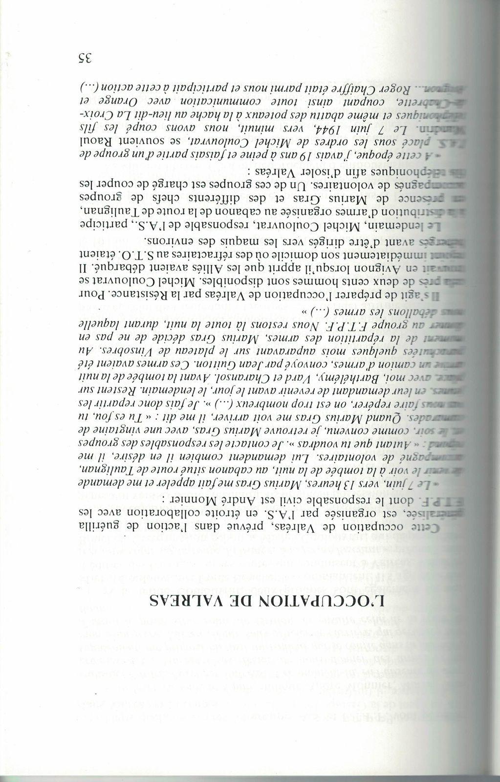 Livre du 12 juin 1944 - 53 fusillés à Valréas - 5ème édition