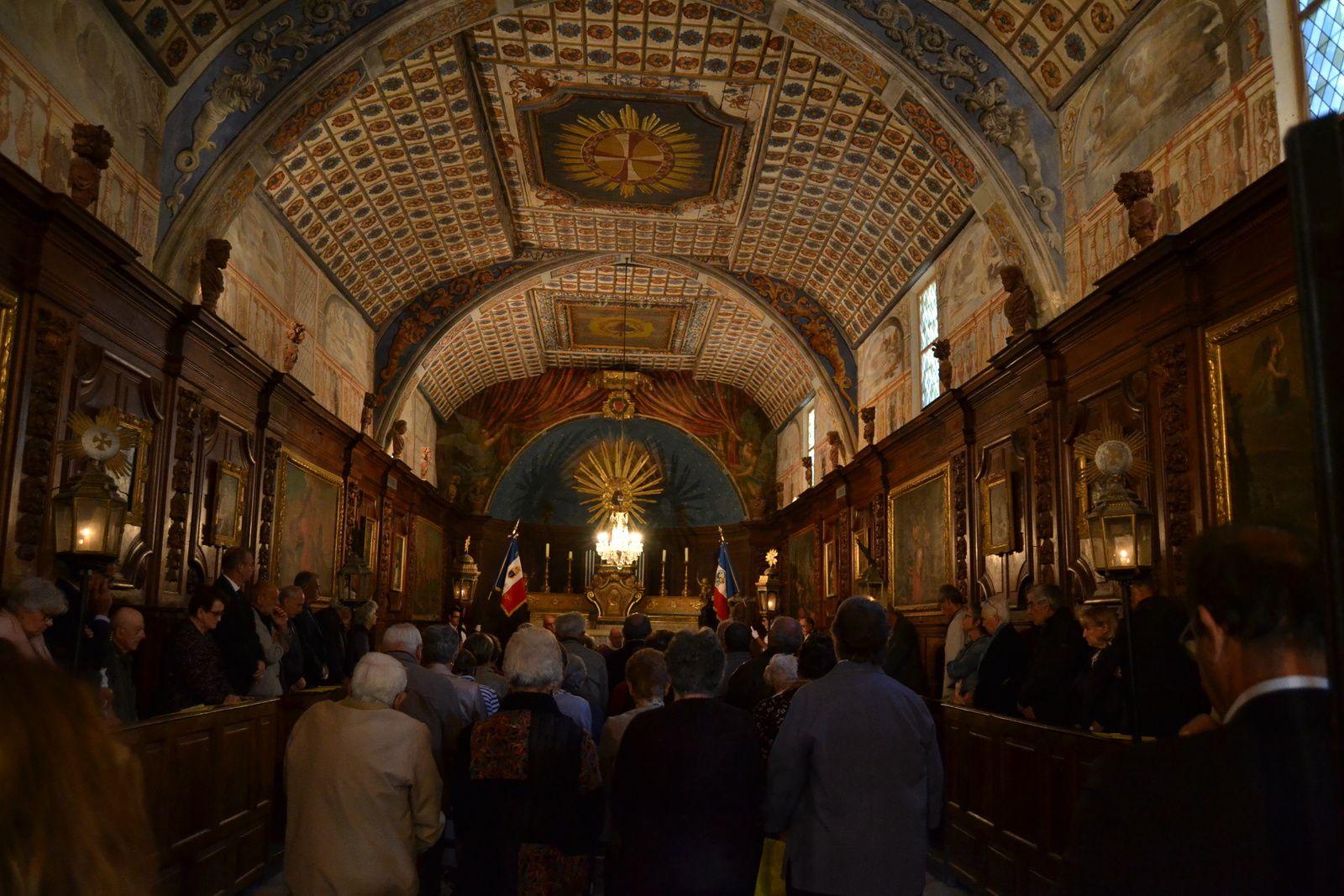 Messe à la mémoire des Fusillés, chapelle des Pénitents Blancs