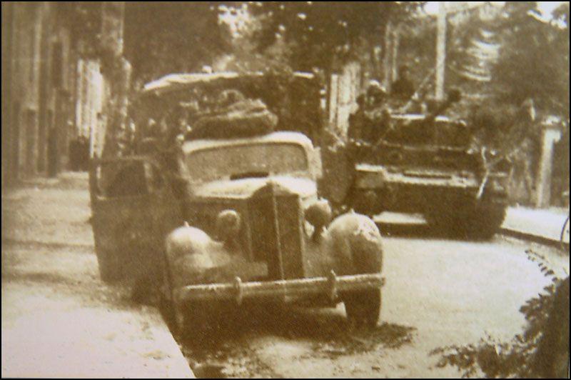 Montélimar août 1944