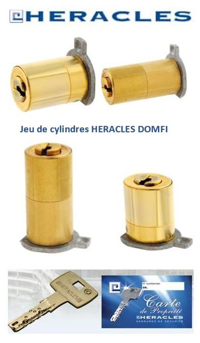 Cylindre Fichet adaptable