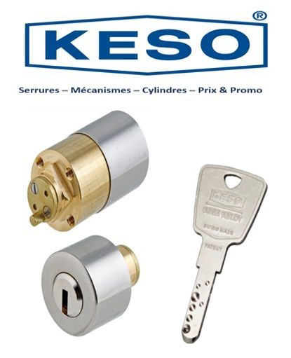Serrure_Keso_4000S-cylindres_Vanves