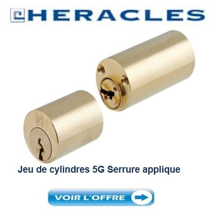 Cylindre_HERACLES_5G_Rond_serrure_applique