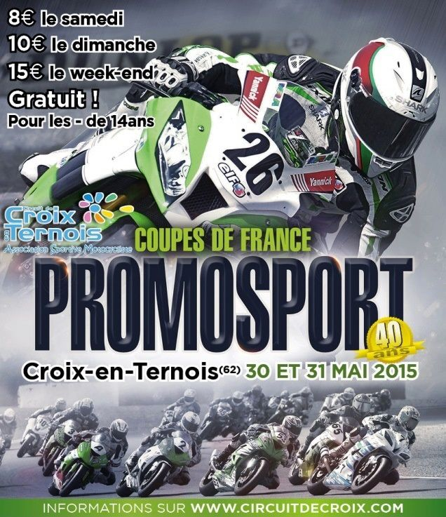 (Photo - Allmoto.racing.fr) Ce weekend une épreuve à ne pas manquer ! On souhaite à tout nos amis qu'il fassent le meilleur d'eux même ce weekend. Bravo encore à tous !