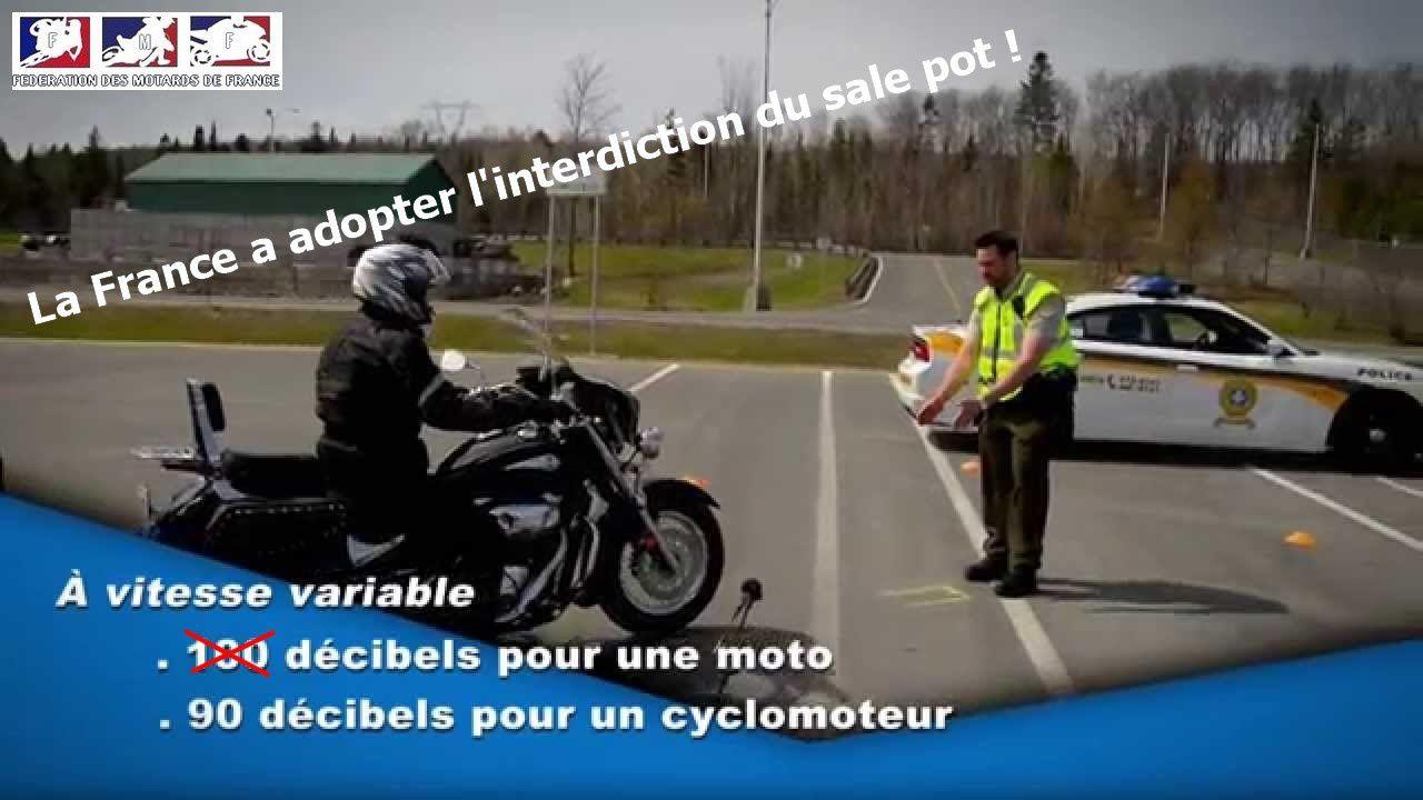 Encore une fois les motards seront encore rprivée de leur liberté et la moto soumise à de nouvelle restriction. Encore une fois on en veux encore aux motard aujourd'hui ! - (photo FMF).
