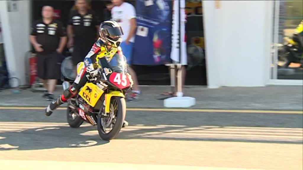 Le grand prix de France de Superbike  fait son grand retour ce week-end sur le circuit de Pau Arnos - (photo : France Télévision).