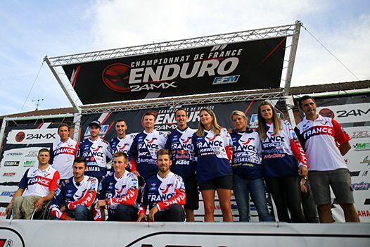 Photo - FFM ISDE - Une belle occasion de briller pour toute l'équipe de France.