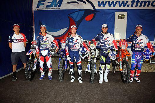 Source FFM - Bonne chance aux équipes de France ce week-end pour ce grand événement de l'enduro !