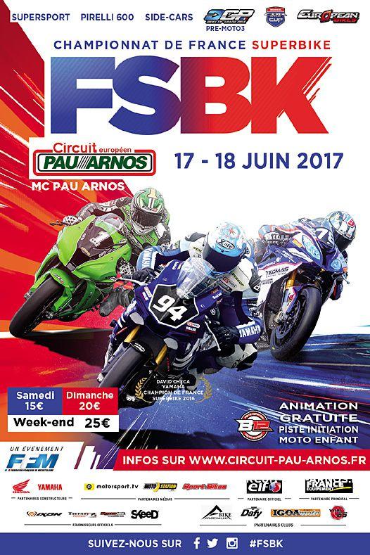 Affiche - Dafy moto - Le prochain championnat FSBK sera juste sensationnelle !
