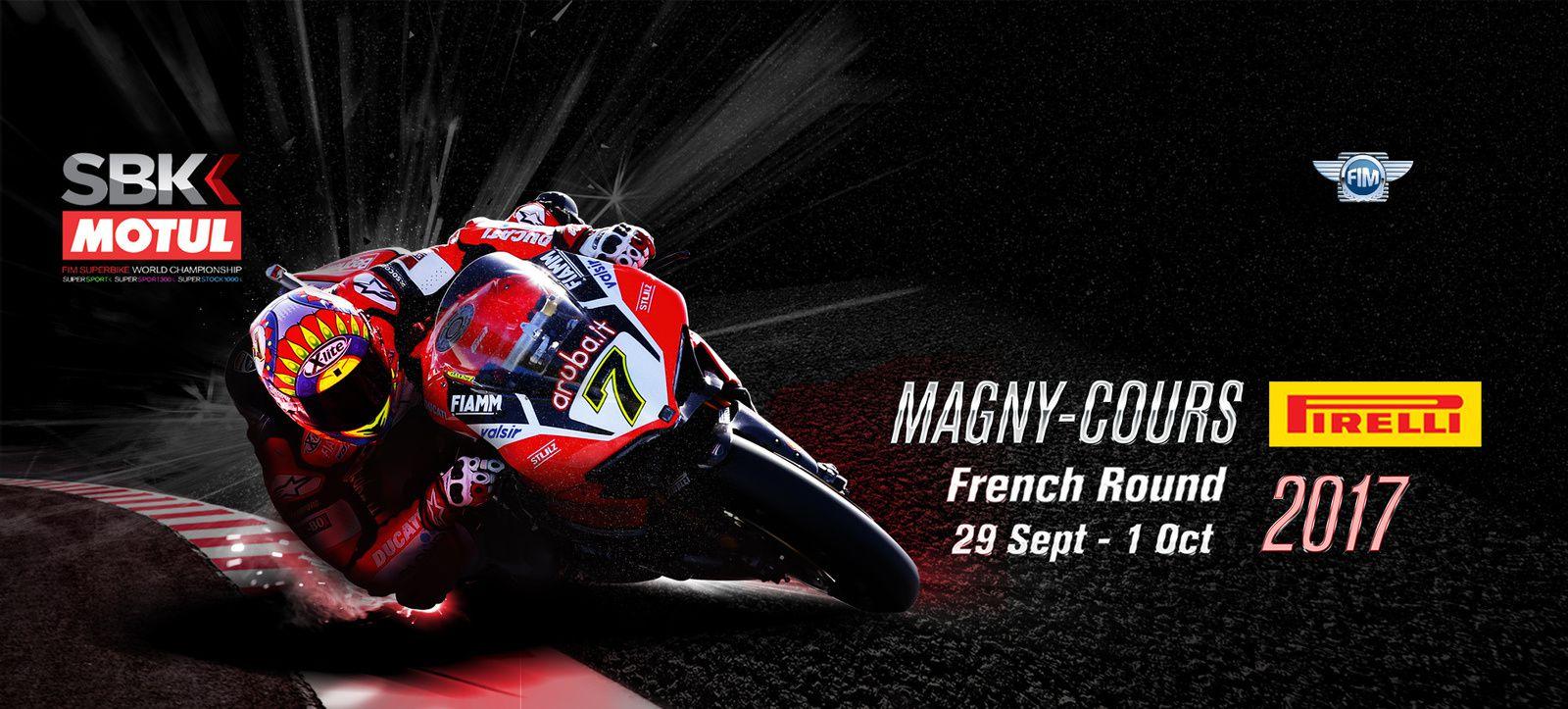 C'est ce weekend que se déroulera le grand prix de France WSBK !  Bonne chance aux pilotes et aux membres tenant les relais motos ce weekend...