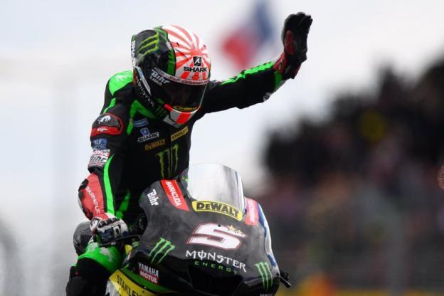 Le Français signe la deuxième pole position de sa première saison en MotoGP. (J.Prevost / L'Equipe)