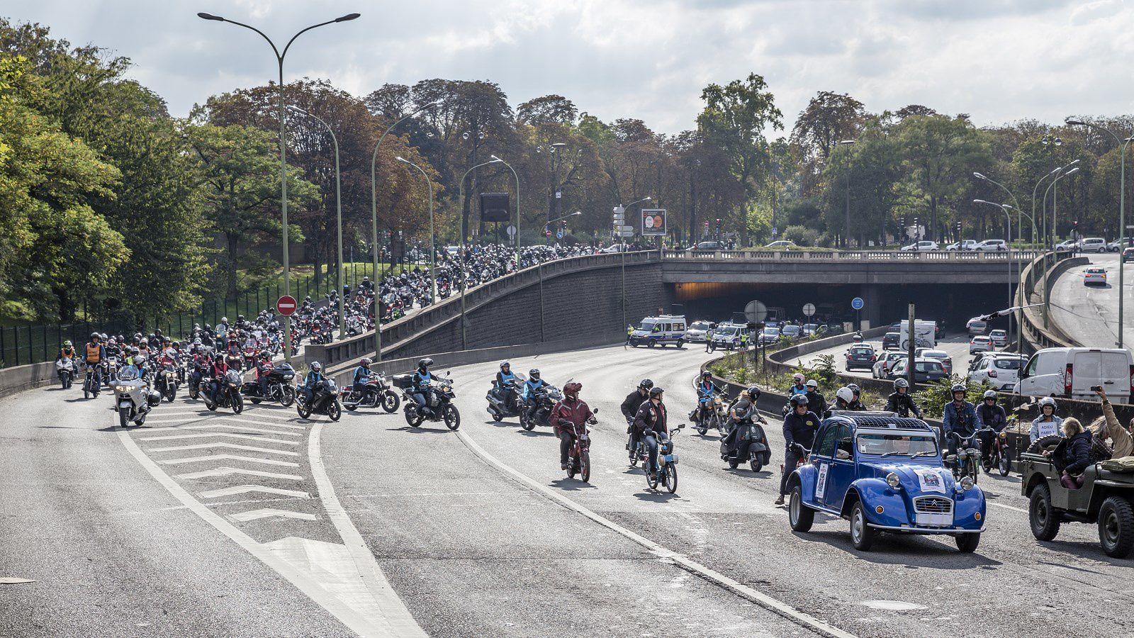 Les motards de France sont appelées à manifesté dans la rue ce week-end dans toute la France !
