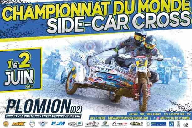 Calendrier Side Car Cross 2019.Championnat Mondial De Side Car Cross A Plomion Federation